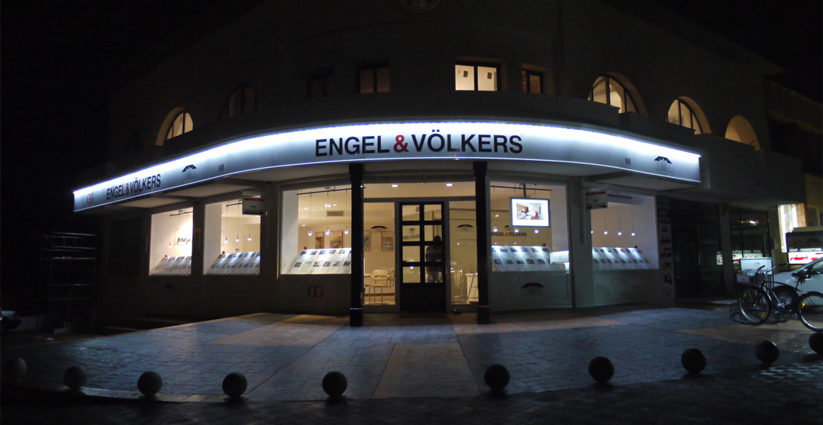 Engel and volkers external and internal signage appletons - Engel and volkers ...